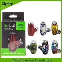 Original Beleeaub Smart Vape Pen Patronen Einstellbare Batterie 900mAh Vorwärmen VV Vairable Spannung 510 Gewinde E-Rohre Rauchdampf mod