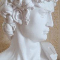 David Head Portraits Büste Gips Statue Michelangelo Buonarroti Skulptur Wohnkultur Handwerkskizze Praxis L1239 54 S2