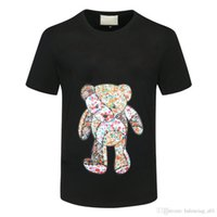 LYP 2021 مصمم CC T Shir الأزياء شخصية قبالة الرجال والنساء Shir Shirs عالية Qualiy أسود Whie Hbys Waisb الدب