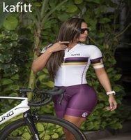 2021-Kafitt Sports Dames Cyclisme Jersey Course Triathlon Little Singe Skinkey Skinkey Skinkey One-Piece 20DGEL Pro