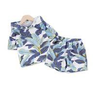 Clothing Sets Summer Children Fashion Baby Boys Girls Print Hooded T Shirt Shorts 2Pcs sets Kids Infant Clothes Toddler Tracksuit
