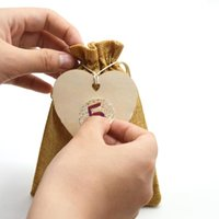 Christmas Decorations 24PCS DIY Advent Calendar Countdown Bag Hanging Candy Gift Sacks Pouch With Clips Stickers Rope Kindly