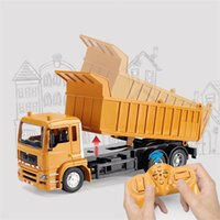 Rc Engineering Truck Remote Control Super Power Dump Car Model Children's Toys Boys Birthday Xmas Gifts Electric Loader