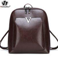 HBP повседневная блестка рюкзака женщин сумки для намя: кожаный рюкзак женщин большой емкости книжные сумки школьные сумки для девочек-подростков mochila