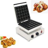 Commercial Stainless Steel Takoyaki Machine Octopus Balls Machine Non Stick Takoyaki Baking Pan Waffle Baking Equipment