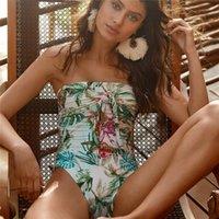 Bikini Three-Point Swimsuit de uma peça para as mulheres