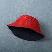 كلاسيكي الربيع الصيف صياد كاب للرجال والنساء الأزياء البائعين لطي حوض حوض قبعات الحلوى القبعات الملونة