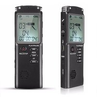Digital Voice Recorder Professional Activado Áudio Caneta de Áudio Detafone 8/16 / 32GB Entrevista Recarregável