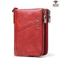 Fashion Wallet 2021 Women Genuine Leather Female Purse Money Handbag Card Holders Phone Case Clip Pocket Walet For Wallets1