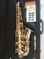 Yanagisawa Высокое Качество Бренд A-WO37 Alto Saxophone Посеребренный Золотой Ключ Профессиональный Сакс с мундштуком