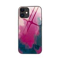 (+ Filme) iphone 11/12 / x / 7 / xr cor de água temperada endurecida proteção contra queda capa de proteção da Apple 12Proax