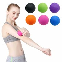 Party Decoration Lacrosse Ball Yoga For Deep Tissue Trig.ger Point Myofascial Release Muscle Fatigue Roller Fitness Massage 2021