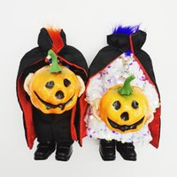 Halloween Headless Pumpkin Doll Ghost Festival Trick Doll Atmosphere Layout Props Dolls Decoration Supplies