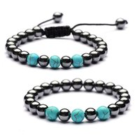 Bangle Energy Healing 8mm Natural Stone Bead Handmade Charm Bracelets For Women Men Party Club Decor Yoga Jewelry