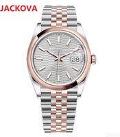 Top Diamonds Ring Watch 36mm 41mm Men Women Automatic high quality 316L Stainless Steel Mens Womens Mechanical Orologio di Lusso 5ATM waterproof wristwatch