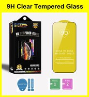 9H Anti-Explosion Screen Protector for iPhone 11 12 13 Mini Pro Max XR XS 6 7 8 Plus 9D Tempered Glass Case With Retail Package