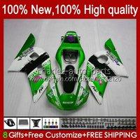Bodywork For YAMAHA YZF 600 CC YZF-600 YZF-R6 1998 1999 2000 2001 2002 Bodys 1No.124 YZF600 600CC YZF R6 R 6 98-02 YZFR6 98 99 00 01 02 OEM Full Fairing Kit green glossy