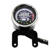 12V Modified Motorcycle Multifunctional Instrument Meter digita Tachometer Odometer