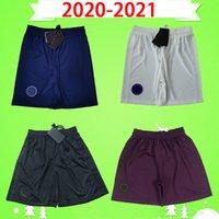 2020 2021 psg calções de futebol 20 21 terceiro branco casa azul fora laranja calças de futebol paris maillots de pé camisa de futebol MBAPPE CAVANI