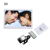 Frames 15.4 Inches Digital Po High Resolution LCD Electronic Picture Video Muser Player Slideshow With Remote Control