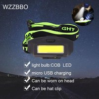 Headlamps Powerful Led Headlamp Headlight Rechargeable USB Outdoor Waterproof Camping Fishing Hiking Light Head Cap Hat Clip On Ligh