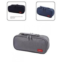 Fountain Pens Canvas Fashion Big Capacity Pencil Bag Large Storage Pouch Wear Resistant Case Multi-Function For Kids
