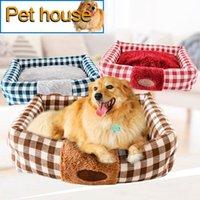 Letti per cani per animali domestici per cani per piccoli cani più spessa oxford tessuto polare in pile coperta cat coperta da cani da interno prodotti caldi pet addormentato cuscino per canizzo