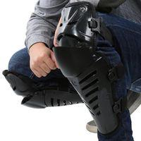 Almohadillas de la rodilla de la motocicleta de alta calidad Mountain Bike Bicicletas Deportes al aire libre Motorcross Kneepad Moto Racing Gear Protective