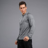 Erkekler Spor Uzun T Shirt Hızlı Kuru Fitness Eğitim Giysileri Tenis Koşu Basketbol Spor Tops Ince Egzersiz Spor Spor Tee Tops