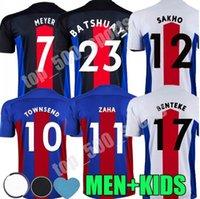 Homens + Crianças 20 21 Jerseys de futebol de cristal 2020 2021 Zaha MilivoJevic Townsend Sakho Benteke Batshuayi Camisas de futebol Palace Uniforme Tailândia