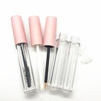 3ML пустые глянцевые трубы для губ DIY розовые туши тубки круглые косметические подводки для глаз