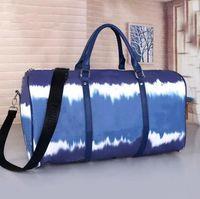 50 cm grande capacidade mochila mulheres viajar sacos de viagem venda mulheres mulheres tote ombro mochila sacos seguros de bagagem Bottom rebites com cabeça de bloqueio livre navio