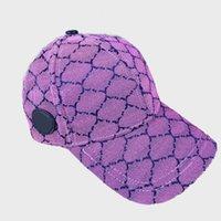 2021 Дизайнерская Вышивка Бейсболка Мода Мужская Женская Спортивная Шляпа Регулируемый Размер Человек Классический Стиль Оптом