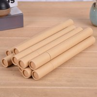 Kraft Paper Incense Tube Incense Barrel Small Storage Box for 10g 20g Joss Stick Convenient Carrying Factory wholesale LX3323