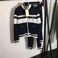 2021ss brand women Tracksuit stitching logo hoodies pants 2 piece suit autumn cciggu brand sports suit long sleeve running fitness female sportswear