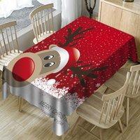 Cabina di natale Tavolo da tavolo Paesaggio Paesaggio Cabinet Cabinet Cover Dining Nordic per Xmas Home Decorative