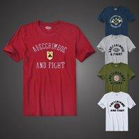 AF 2020 Sokak Eğilim Rahat erkek Yüksek Kalite Kısa Kollu T-shirt