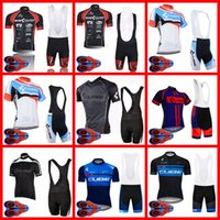 CUBE Team Ropa Ciclismo Breathable Mens cycling Short Sleeve Jersey And Shorts Set Summer Road Racing Clothing Outdoor Bicycle Uniform Sports Suit S21052809