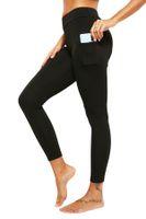 2020 جديد جيب جيب اليوغا السراويل عالية الخصر اليوغا السراويل اللياقة البدنية السراويل للسيدات البطن السيطرة السيدات طماق مع جيوب
