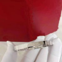 Hoge kwaliteit 2021 klassieke schroevendraaier armband brede versie mode liefde sieraden worden geleverd met originele verpakking geschenkdoos