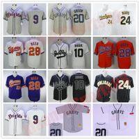 9 Boucher Jersey 5 Finkle The Ace Ventura Jim Carrey 20 Josh Gibson 13 Willie Beamen Film Baseball Trikots