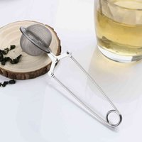 Sphere 304 Stainless Steel Mesh Infuser Strainer Coffee Herb Spice Filter Diffuser Handle Tea Ball Top Quality