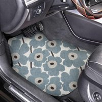 Carpets Many Pattern PVC Silk Loop Non-slip Car Foot Mat Interior Decor Dustproof Durable Carpet Can Be Customized Pads Accessories