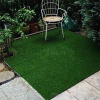 وصول جديد يمكن تقسم العشب الاصطناعي 30 سنتيمتر * 30 سنتيمتر صديقة للبيئة البلاستيك المحمولة المنزل حديقة الديكور الأخضر السجاد ood5503