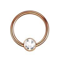 1pc g23 titan opal öra septum piercing näsa ring pärla boll bcr piercings cbr helix tragus labret ringar piercingar kropp smycken