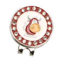 Golf Training Aids Ball Marker - Magnetic Hat Clip Alloy Professional Mark Gift