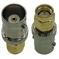 2 팩 SMA M 남성 BNC F 여성 동축 잭 커넥터 RF 동축 동축 어댑터 커넥터 워시 토키 안테나 변환 헤드 양방향 라디오 용으로 사용할 수 있습니다.