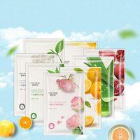 BISUTANG Fruit Plant Facial Mask Moisturizing Face Skin Care Oil Control Sheet Hydrating Masks