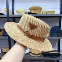 Tasarımcı Cap Kova Şapka Moda Erkekler Kadınlar Monte Şapka Yüksek Kaliteli Saman Güneş Kapaklar