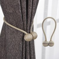 마그네틱 진주 공 커튼 클립, 마그네틱 스트랩 걸쇠 고리, 커튼 막대, 액세서리, 가정 장식
